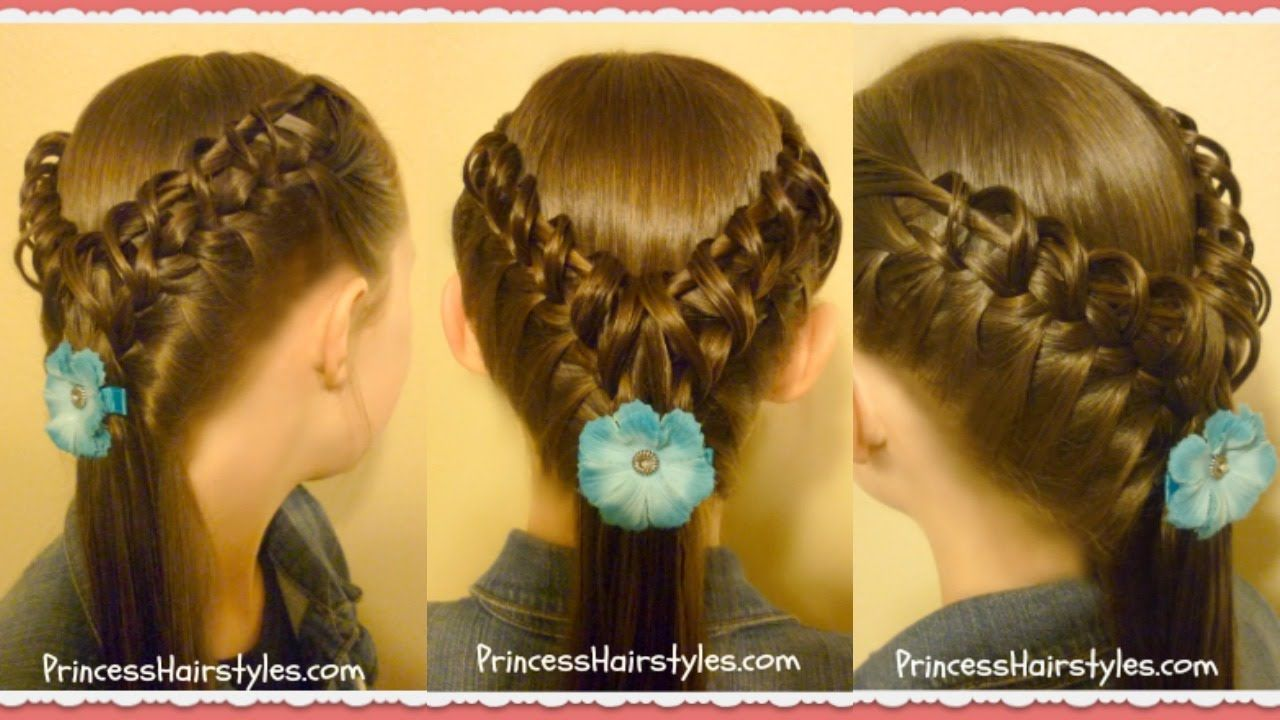 Hook and ladder braid hairstyle cute hairstyles hairstyle for