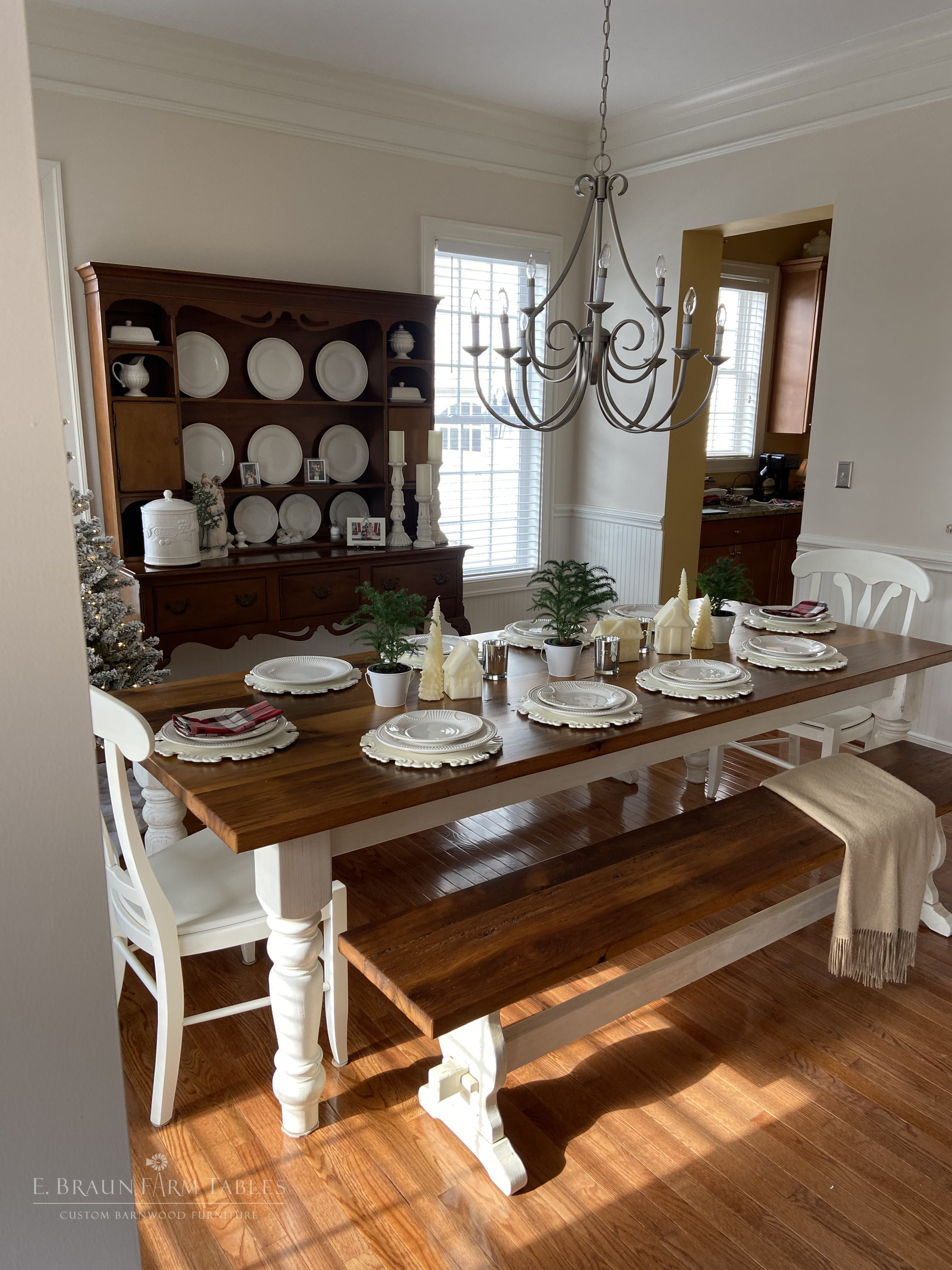 44+ Rustic white dining table and chairs Top