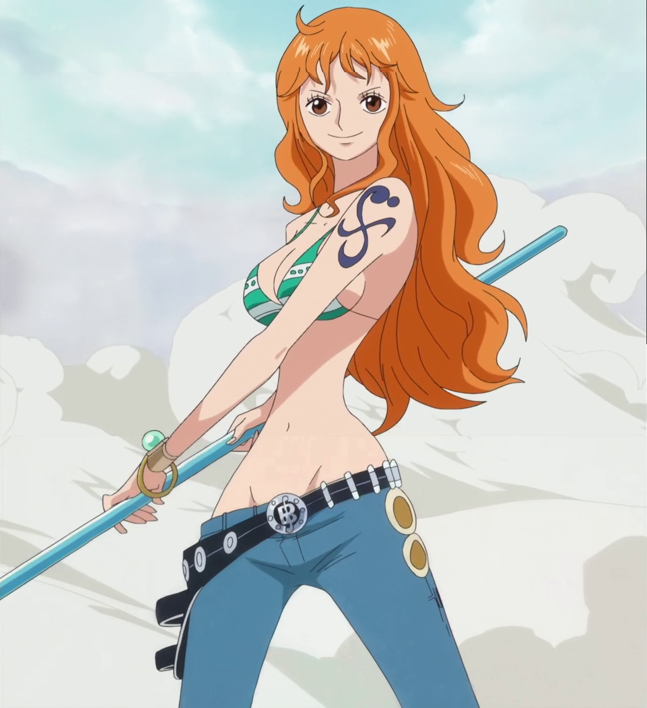 nami from one piece | ☠One⚓Piece☠ | Pinterest | Anime