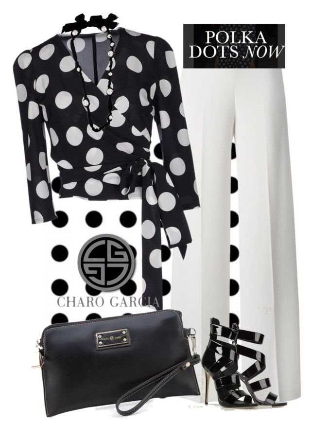 """go CG dots"" by norwich-ave ❤ liked on Polyvore"