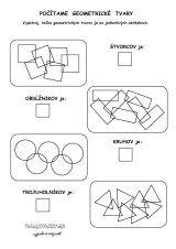 Počítame geometrické tvary