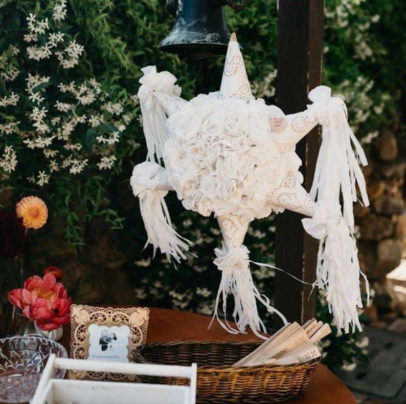 Wedding Pinata Etsy In 2020 Wedding Pinata Mexican Wedding Centerpieces Wedding