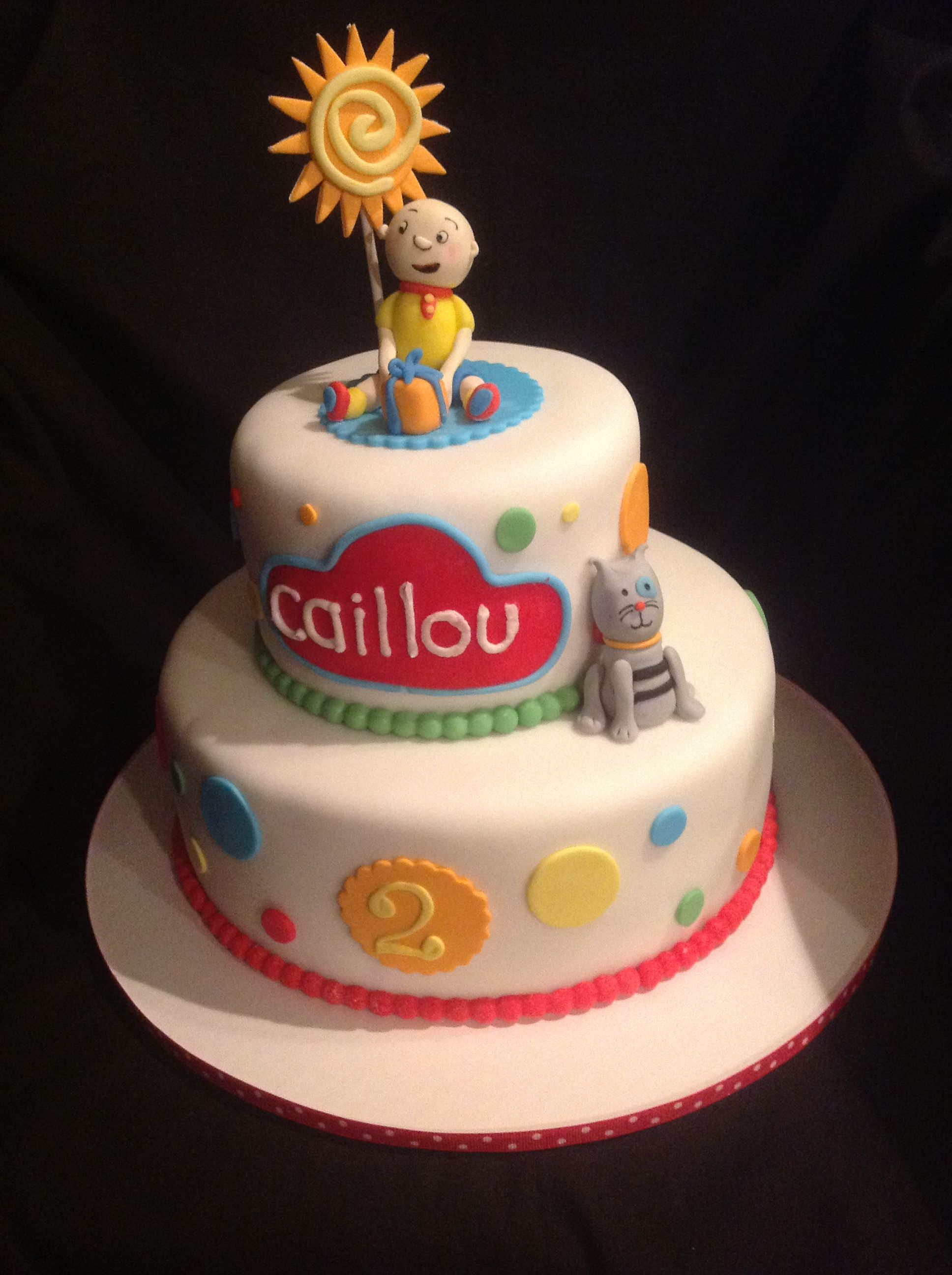 Caillou Cake Amy Hart Sweethart Cakes