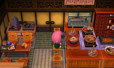 Japanese Restaurant Shamrock 6e00 0026 F069 D Animal Crossing Pocket Camp Animal Crossing Happy Home Designer