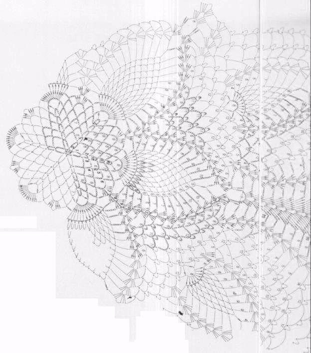 Elegant Tablecloth Spring Crochet Pattern