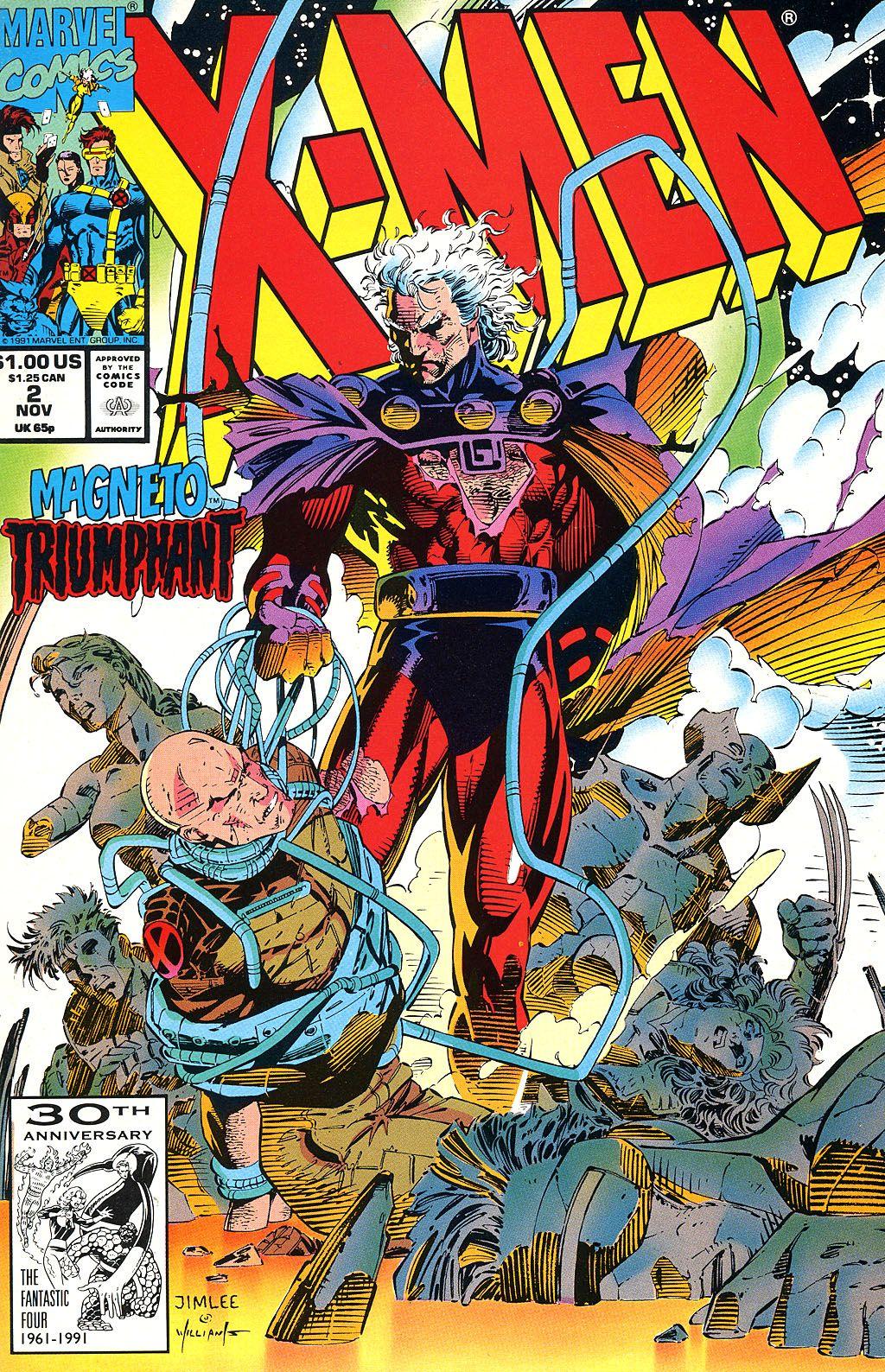 X Men 2 Comic X-Men Vol. 2 #1 (Novem...