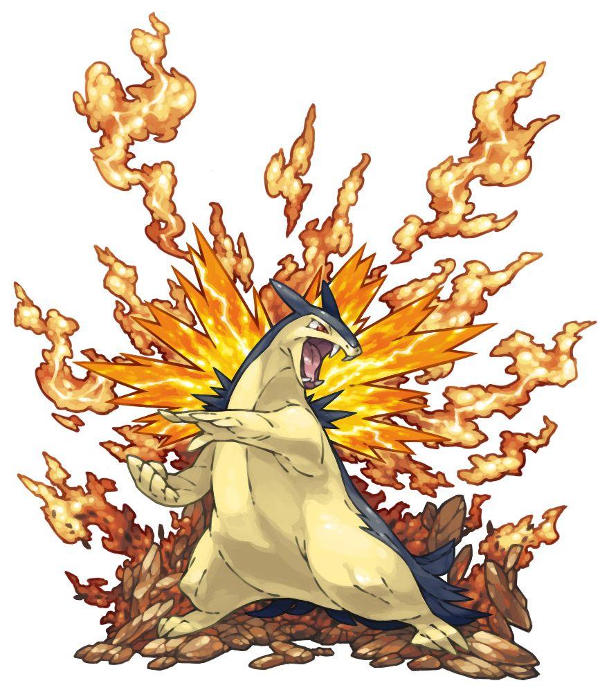 typhlosion | pokemon/pokémon fusions | pinterest | ポケモン と 世界