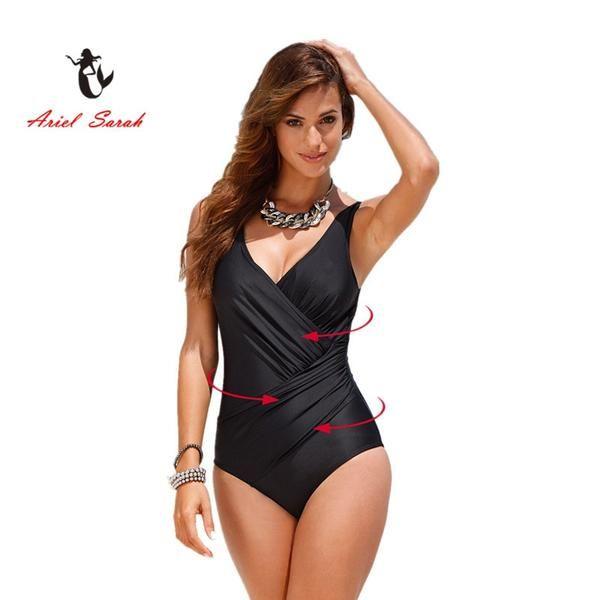 79d75e962 One Piece Swimsuit Brazilian Bikini Set Sexy High Waist Beachwear Plus Size  Swimwear Women Black Bathing Suit XXXXL…  Discounts  BestPrice