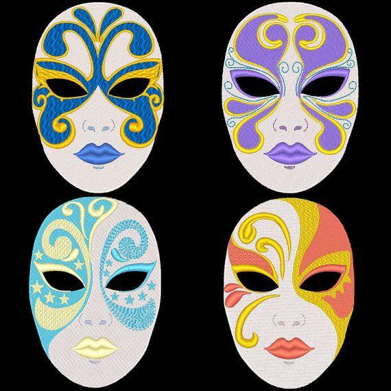 Full Face Mask Easy Mask Designs For Art