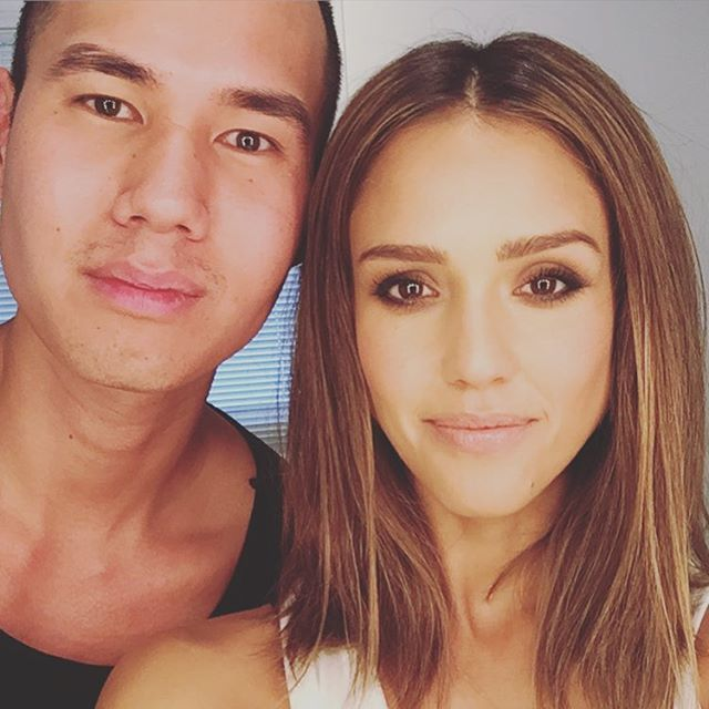 Another dope @honest_beauty tutorial coming your way w @patrickta  #honestbeauty #letsbehonest #smokyeye