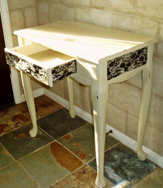 Faux Painting Furniture Ideas Part - 30: Faux Painting + Furniture: Lace