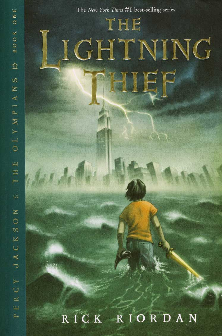 Book Review Percy Jackson And The Lightning Thief Clapdance Percy Jackson Books The Lightning Thief Book The Lightning Thief