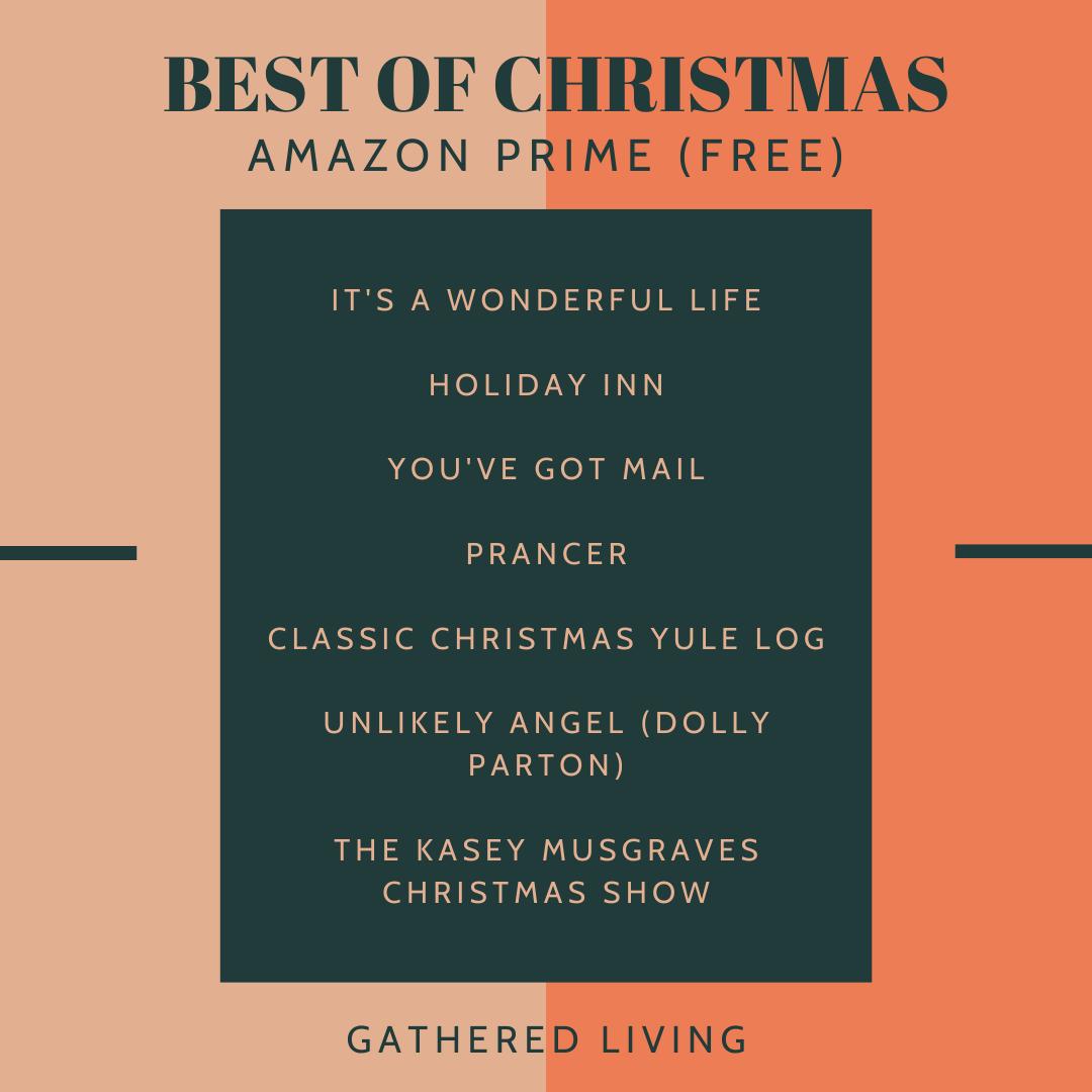 Best of Christmas on Amazon Prime, Netflix, + Hulu (With images)   Best christmas movies, Amazon ...