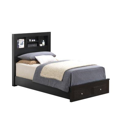 Three Posts Kennon Storage Platform Bed Adjustable Beds Bed