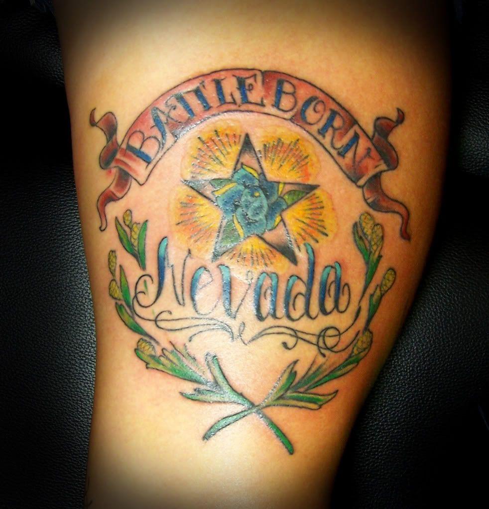 Battle Born Tattoos Body Is A Temple Nevada