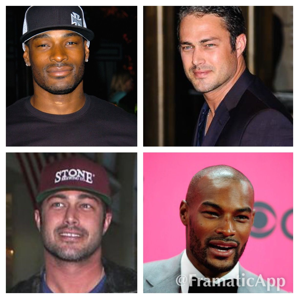 Tyson Beckford and Taylor Kinney - is it just me or do