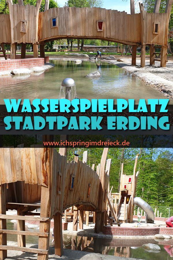 Stadtpark Erding: Wasserspielplatz und Tiergehege wieder geöffnet