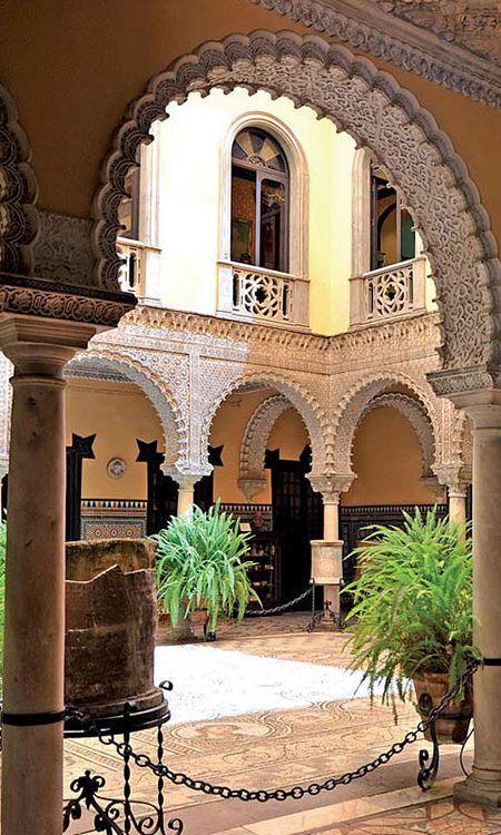 Palacio de la condesa de lebrija siendo la casa palacio for Alquiler de casas en lebrija sevilla