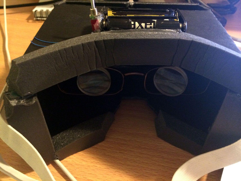 DIY Guide Smartphone VR Headset Plays Oculus Rift Games