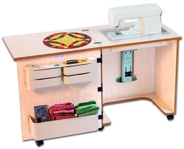 Sylvia Design Sewing Furniture Model 610 Machine Cabinet Sew Vac Direct