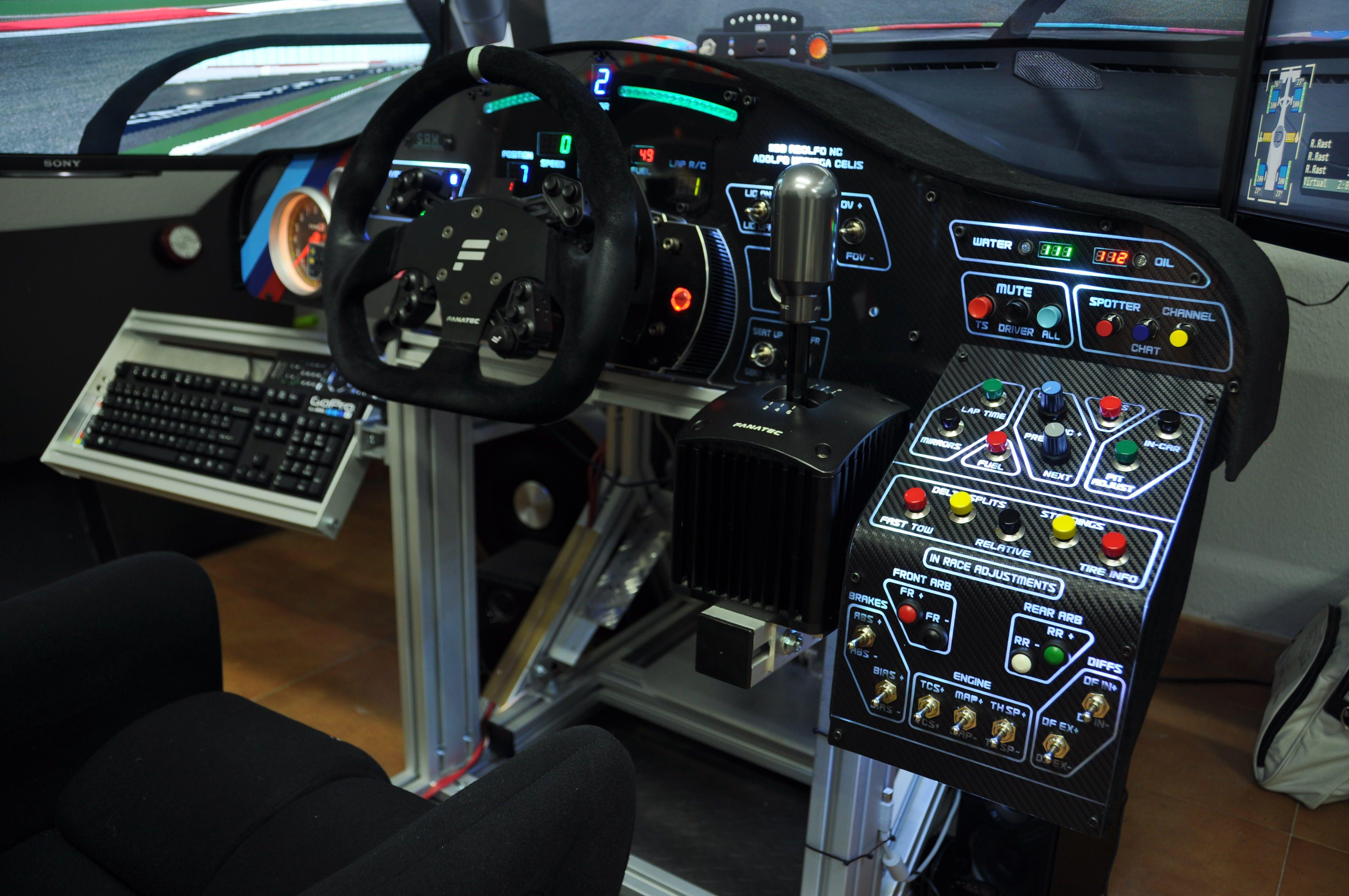 Img In 2019 Racing Simulator Gaming Room Setup