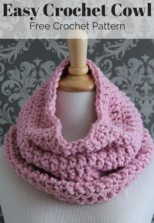 Free Crochet Infinity Scarf Pattern Blogger Crochet Patterns We