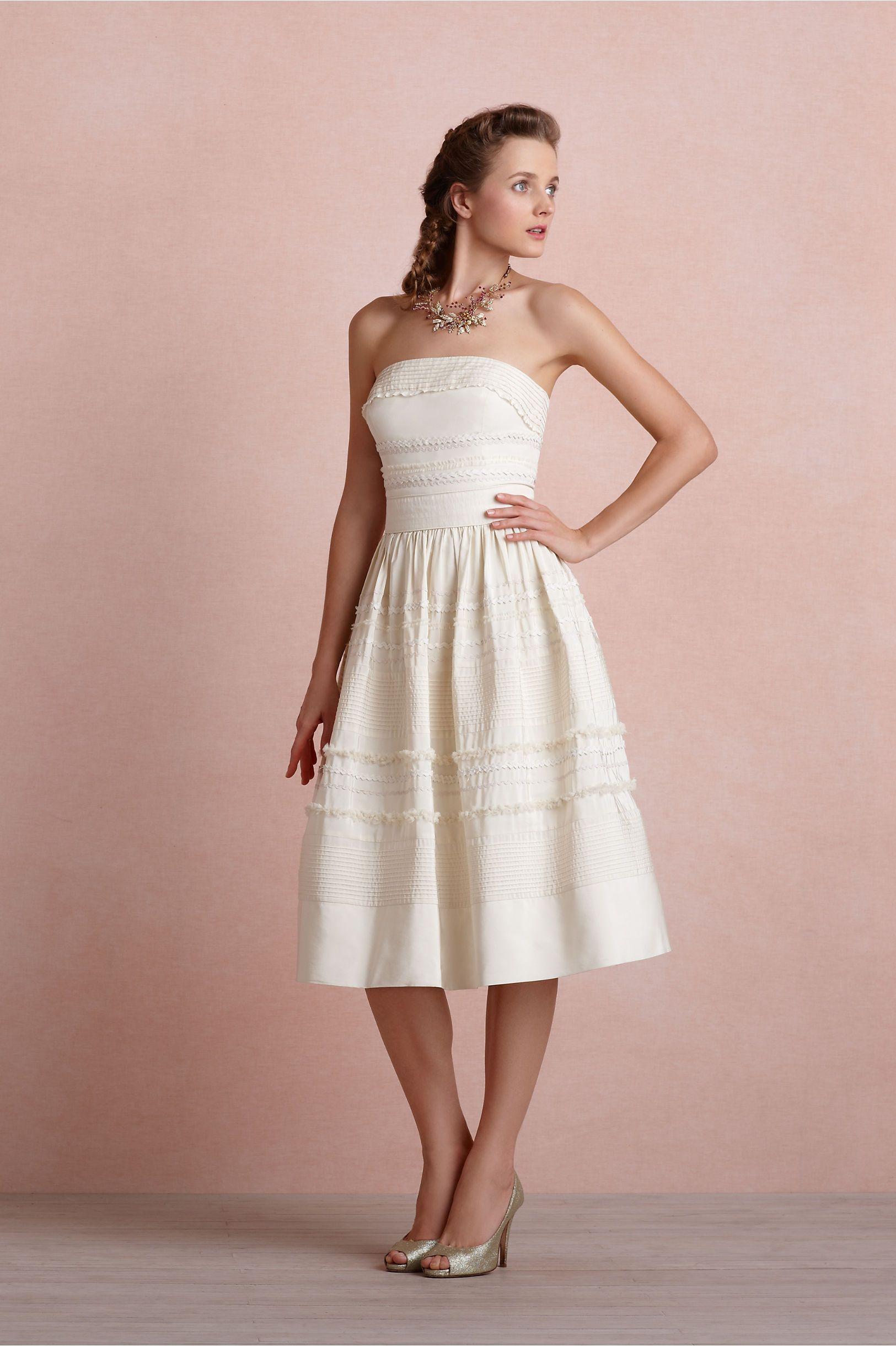BHLDN Fondant Tea Dress Size 6 Wedding Dress | Pinterest | Nos ...
