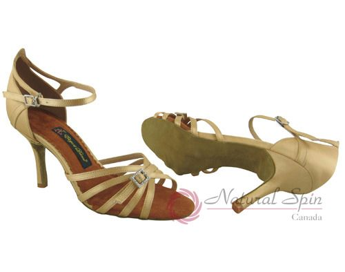 Natural Spin Salsa Salsa Shoes/Tango Shoes/Fashion Shoes(Open Toe):  S1137-19_Lt
