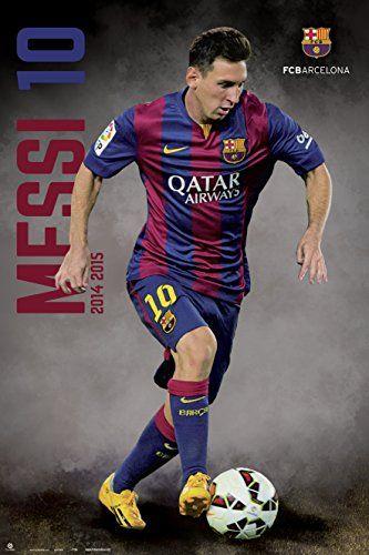 c14bfbf31 Amazon.com: Premiership Soccer Lionel Messi Action Poster: Posters & Prints
