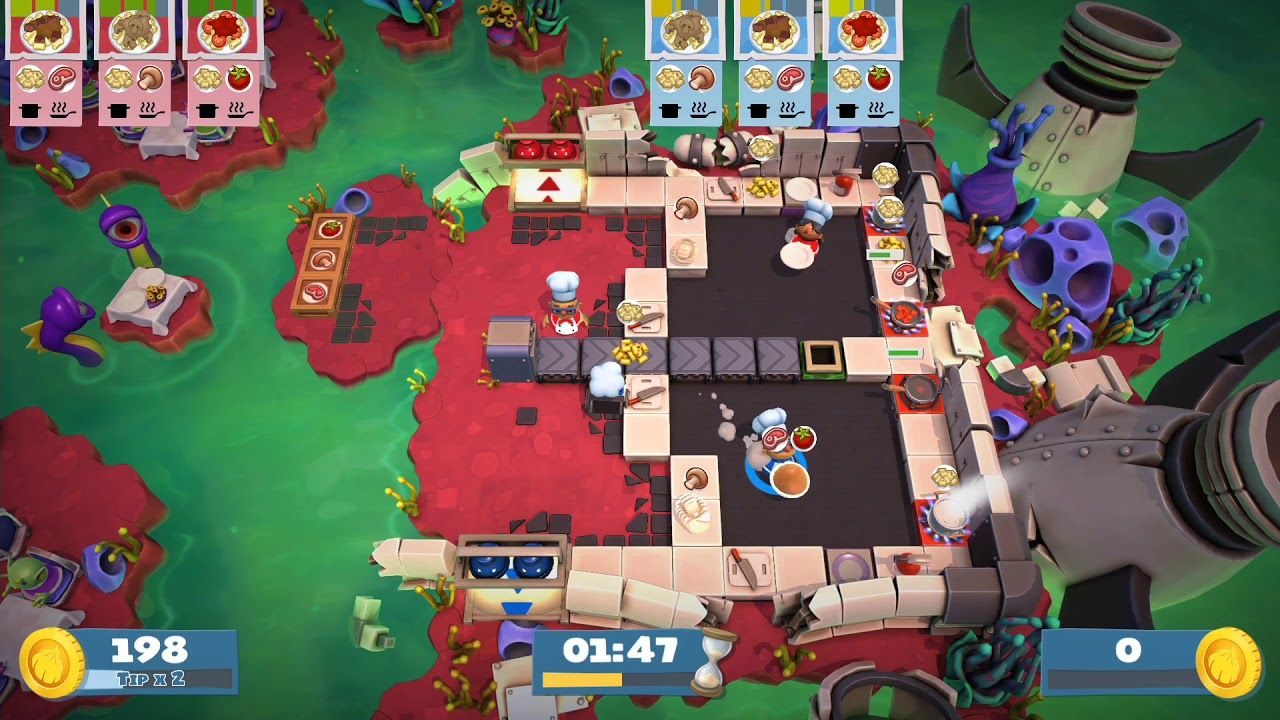 Overcooked 2 Online Versus mode first time Games to play