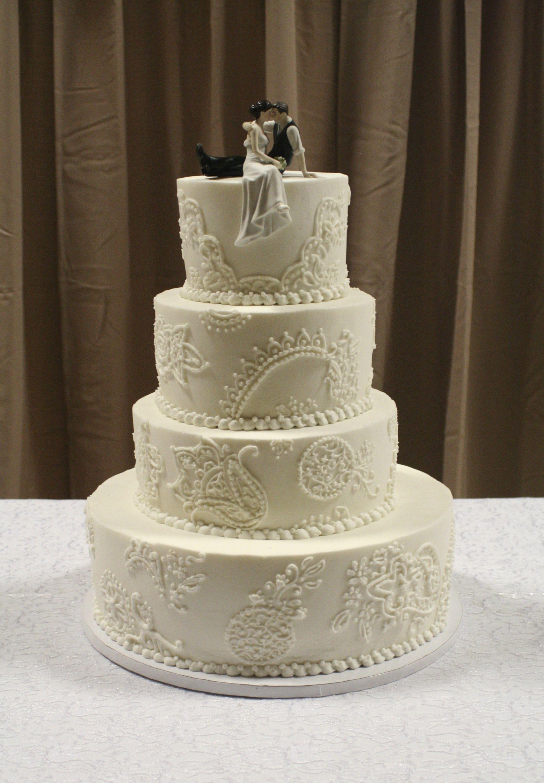Lace Wedding Cake Creative Cakery