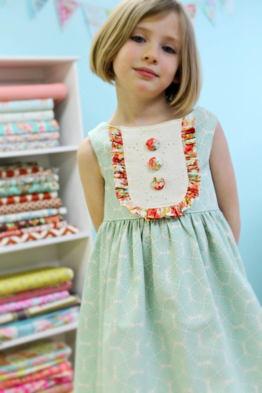 24handmadeeasterdressesfortoddlergirls Little girl