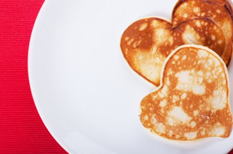 Healthy And Delicious Valentines Day Pancakes!