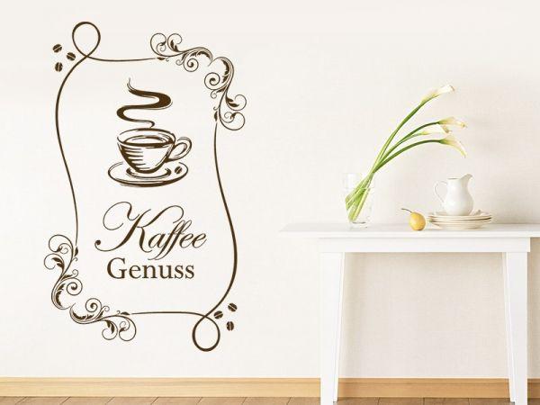 Amazing Stylisches Kaffee Wandtattoo Motiv