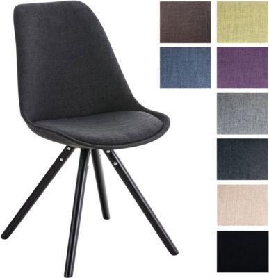 design stuhl pegleg mit stoff bezug retro design esszimmer stuhl gepolstert sitzhhe 46 cm jetzt bestellen unter - Designer Stuhl Esszimmer