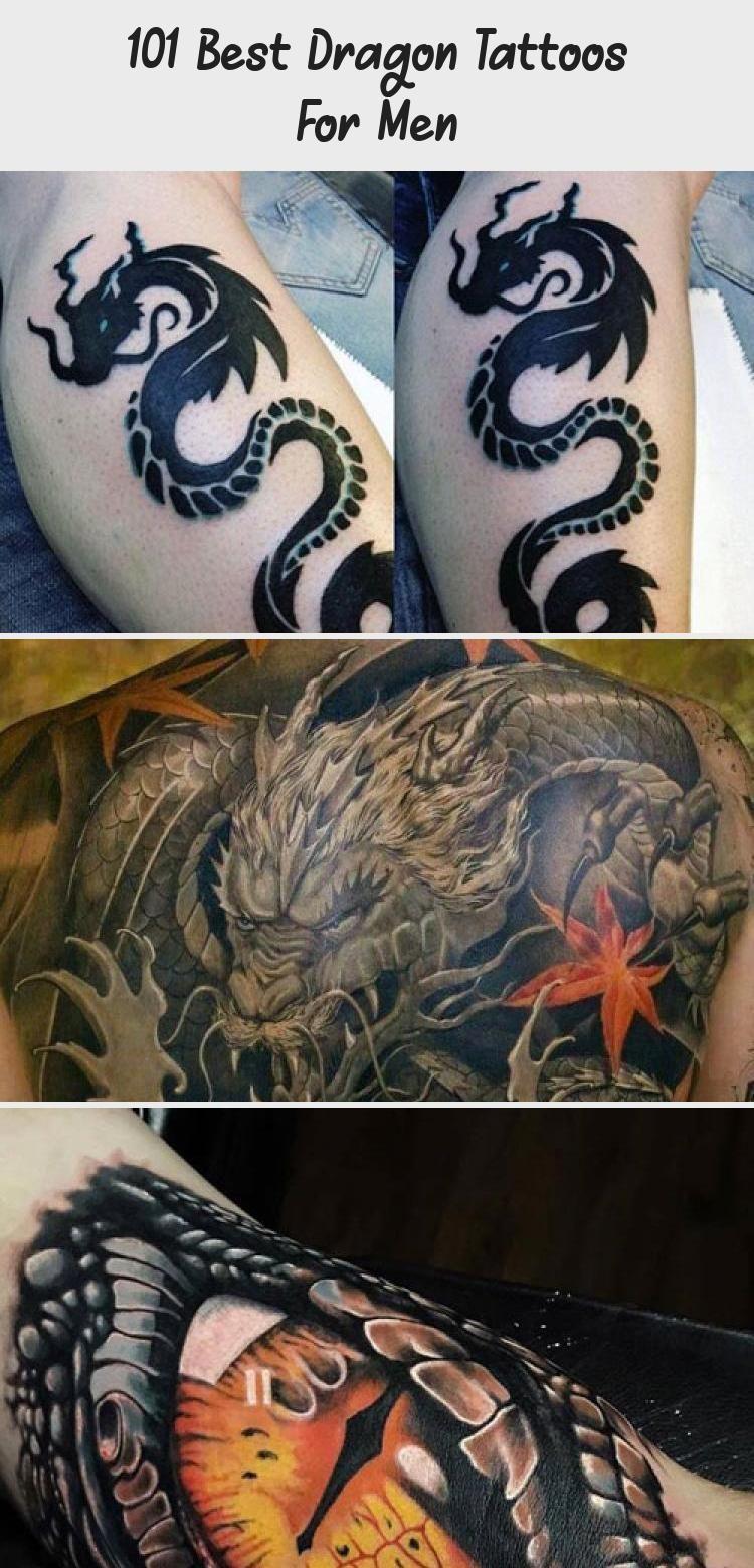 Photo of 101 besten Drachentattoos für Männer – Tattoos – Erstaunliche Blue Dragon Tattoo Idee #ta …
