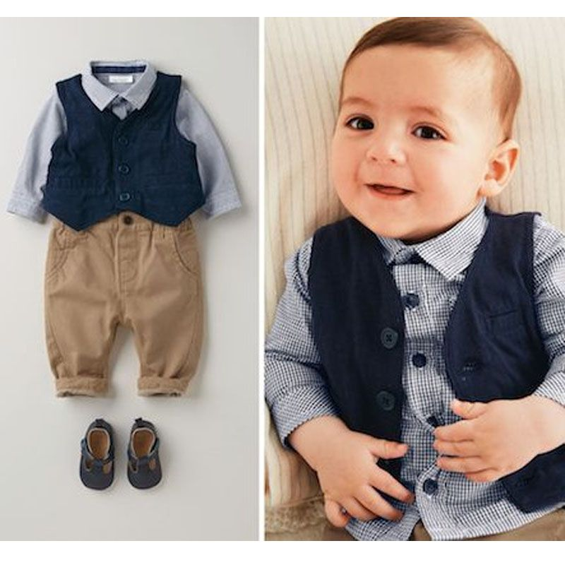 6be563111 Spring baby tracksuit European style ropa bebes conjuntos handsome ...