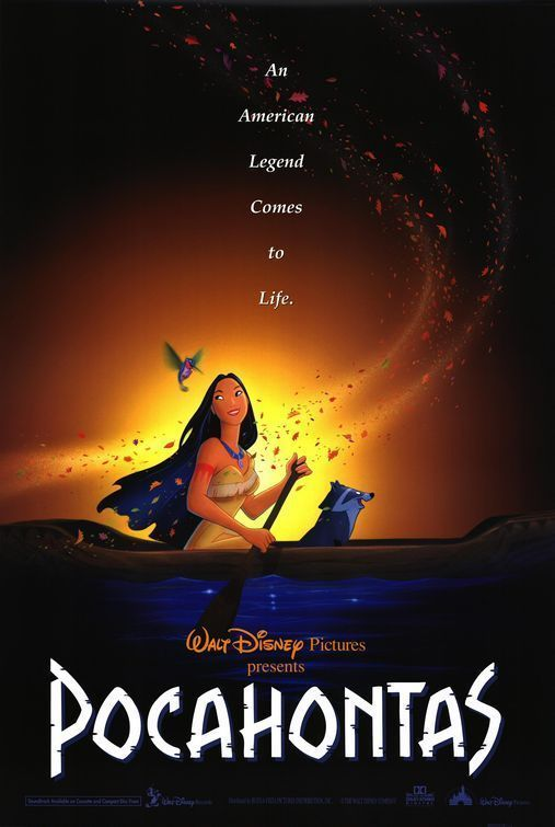 Walt Disney's Classic POCAHONTAS 1995 Original Promo Mini Movie Poster #Posters
