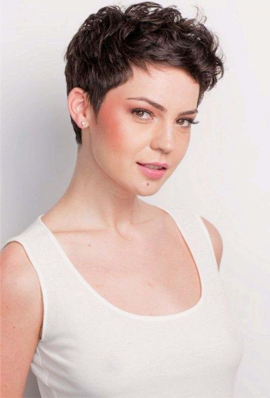 12 Charming Curly Pixie Hairstyles for Women  Haircut for thick