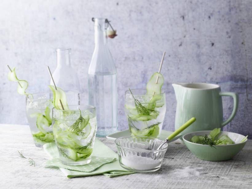 Gurken-Gin-Drink - lecker zum Einstieg in´s Wochenende