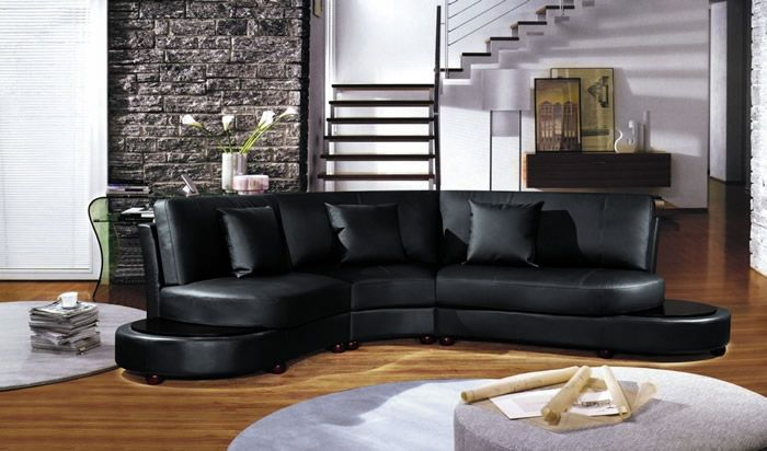 Living Room Design Best Curved Sectional Sofas Modern Leather