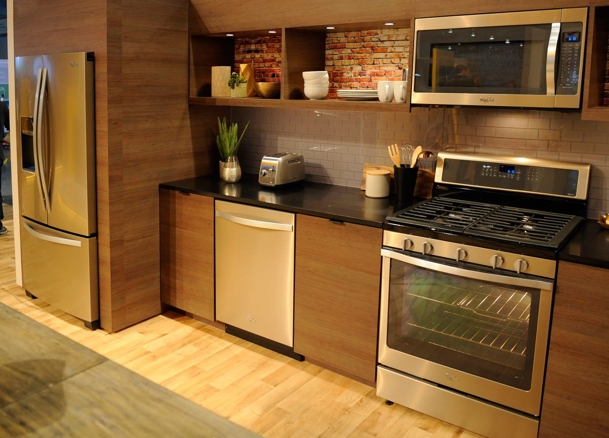 Whirlpool Says Stainless Is Out Sunset Bronze Is In Bronze