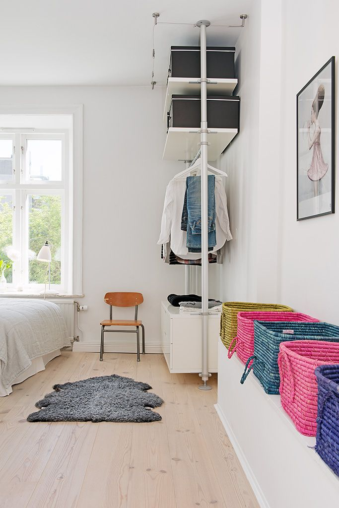Colorful Crib Irresistible Design Exhibited By Colorful - Bright interior design small budget small apartment decorating scandinavian style