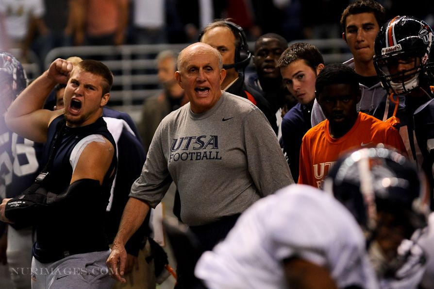 UTSA FOOTBALL bahaha Coach Larry Coker Football, College