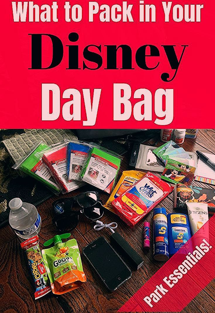Photo of Disney World Essentials for Your Disney Day Bag | Travel with a Plan