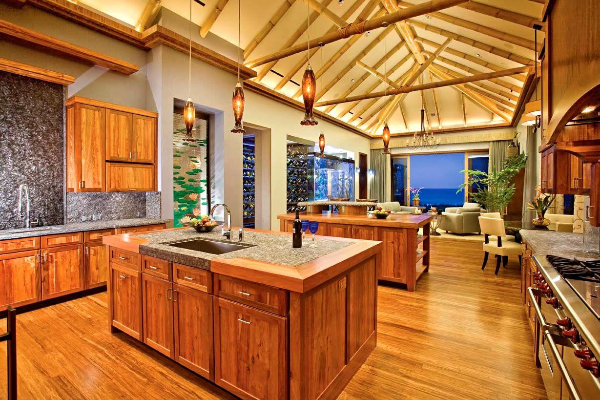 Dura Supreme Cabinetry Tropical Kitchen Design Tropical Kitchen Kitchen Styling