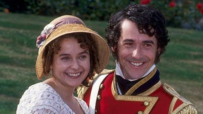 Bbc Drama Pride And Prejudice Photo Gallery Pride And Prejudice Jane Austen Julia Sawalha