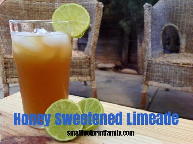 Honey Limeade Recipe (or use stevia!)  #paleo #GAPS #realfood