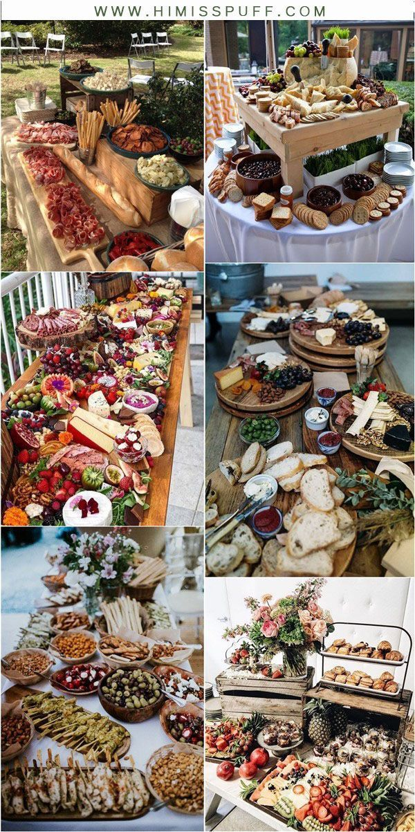 2019 Wedding Trends: 20 Charcuterie Board or Table Ideas – Hi Miss Puff #charcuterieboard