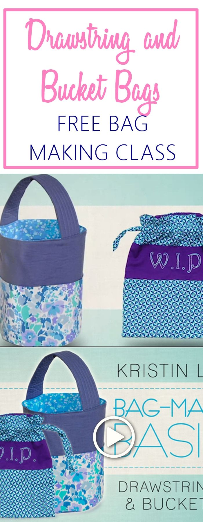 Bucket Bag Sewing Pattern Free